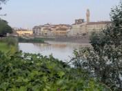 Florence - Vieux pont et pont du merci