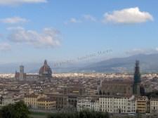 Florence - Vue sur Florence depuis le belvédère