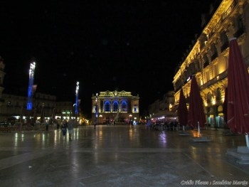 Hérault - Montpellier - Place de la Comédie