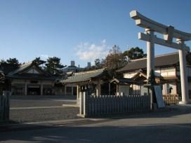 Hiroshima - Château - Gokoku shrine