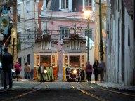 Lisbonne - Centre - Au hasard des rues, tram