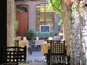 Namur - Au hasard des rues, un restaurant