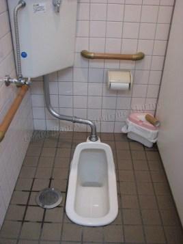 Nara - Toilettes japonais
