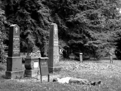 Pisek - Ancien cimetière