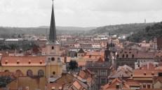 Prague - Vue sur Prague depuis le château