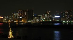 Tokyo - Baie d'Odaïba de nuit