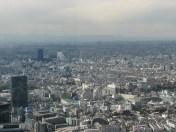 Tokyo - Shinjuku, quartier des affaires, vue depuis les gratte ciel