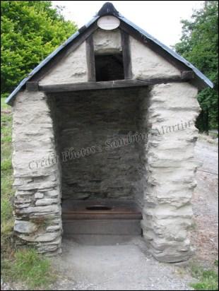Arrowtown, devenue ville fantôme, toilettes