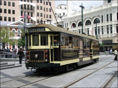 Christchurch, tramway