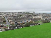 Derry - Depuis les remparts, vue sur la ville