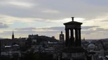 Edimbourg - Calton Hill, vue sur la ville