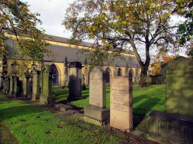 Edimbourg - Greyfriars Kirk, cimetière