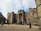 Edimbourg - Intérieur du château