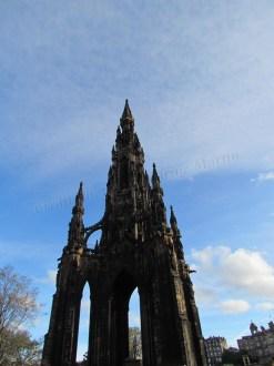 Edimbourg - Monument Scott