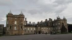 Edimbourg - Palais d'Holyroohouse