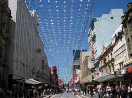 Melbourne - Au harsard des rues - Bourke street