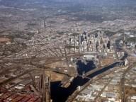 Melbourne - Vue d'avion
