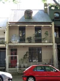 Sydney - Au hasard des rues - Victoria street, 'maison en cage'