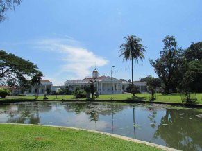 Bogor - Jardin Botanique, palais présidentiel