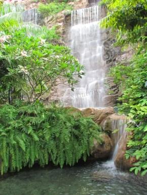 Île Sentosa - Chute d'eau