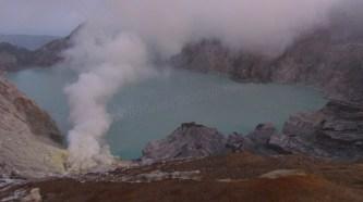Volcan Ijen et son lac