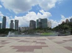 Kuala Lumpur - Centre ville - Parc des tours Petronas