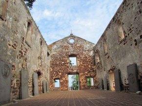 Malacca - Ruine de l'Eglise Saint-Paul