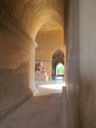 Bagan - Temple 'Dhamma-Yan-Gyi Pahto'