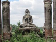 Environs de Mandalay - Inwa - Temple 'Yedanasini Paya'
