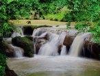 Environs de Pyin Oo Lwin - Grotte 'Peik Chin Myaung', chute d'eau