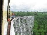 Voyage en train entre Pyin Oo Lwin et Nawngpeng,Viaduc Gokteik