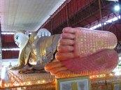 Yangon - Temple 'Chauk Htatt Ghyee'