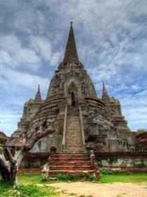 Ayutthaya - Temple 'Wat Phra Si Sanpeth'