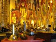 Chiang Mai - Temple 'Wat Chedi Luang', intérieur du nouveau