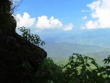 Doi Pha Tang, point de vue sur le Laos