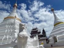 Mae Hong Son - Temple 'Wat Phra That Doi Kong Mu'