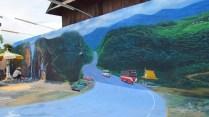 Mae Sariang - Au hasard des rues, peinture sur mur