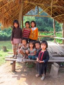 Parc national Nam Ha - Village Eco-Lodge où l'on a dormi