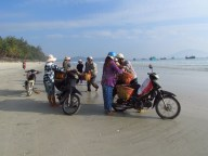 Doc Let Beach - Plage, pêche du matin