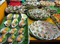 Ile de Phu Quoc - Duong Dong - Marché de nuit et ses restaurants de rue