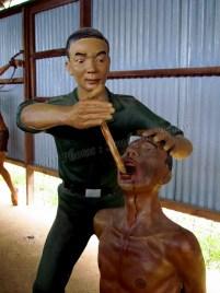 Ile de Phu Quoc - Sur la route - Coconut tree prison, torture