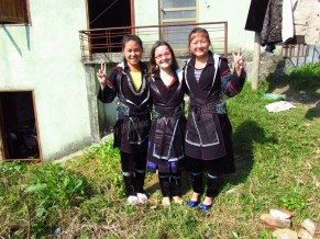 Sapa - Habillement traditionnel H'Mong