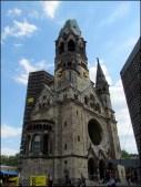 Berlin - Église du Souvenir de Berlin 'Kaiser-Wilhelm-Gedächtniskirche'