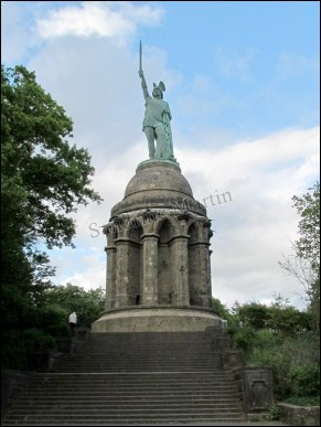Detmold - Monument d'Hermann 'Hermannsdenkmal'