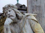 Wurtzbourg - Résidence de Wurtzbourg, les statues