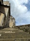 Lot - Rocamadour, escalier des pélerins