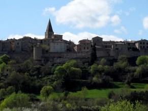 Tarn - Puycelsi, vue sur le village