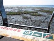 Cairns - L'esplanade, interdiction de se baigner