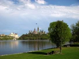 Ottawa - Vue sur la colline du Parlement