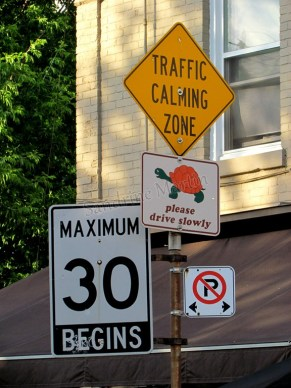 Toronto - Au hasard des rues, signalisation